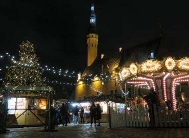 エストニアでクリスマスを祝う